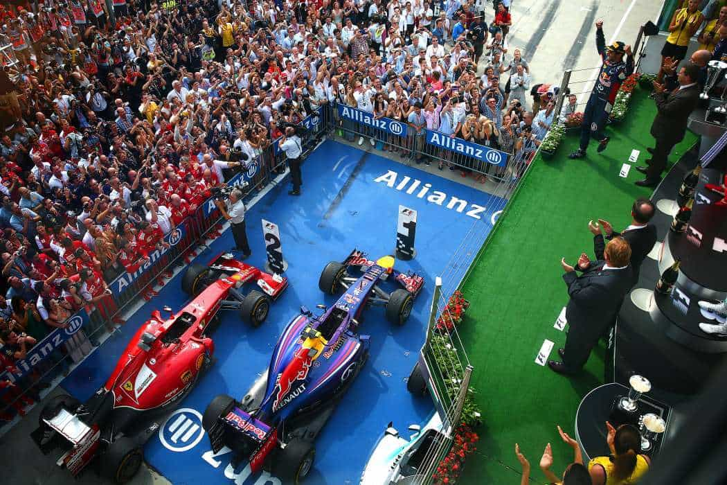 Red Bull e Ferrari surpreenderam Mercedes (Foto Getty Images)