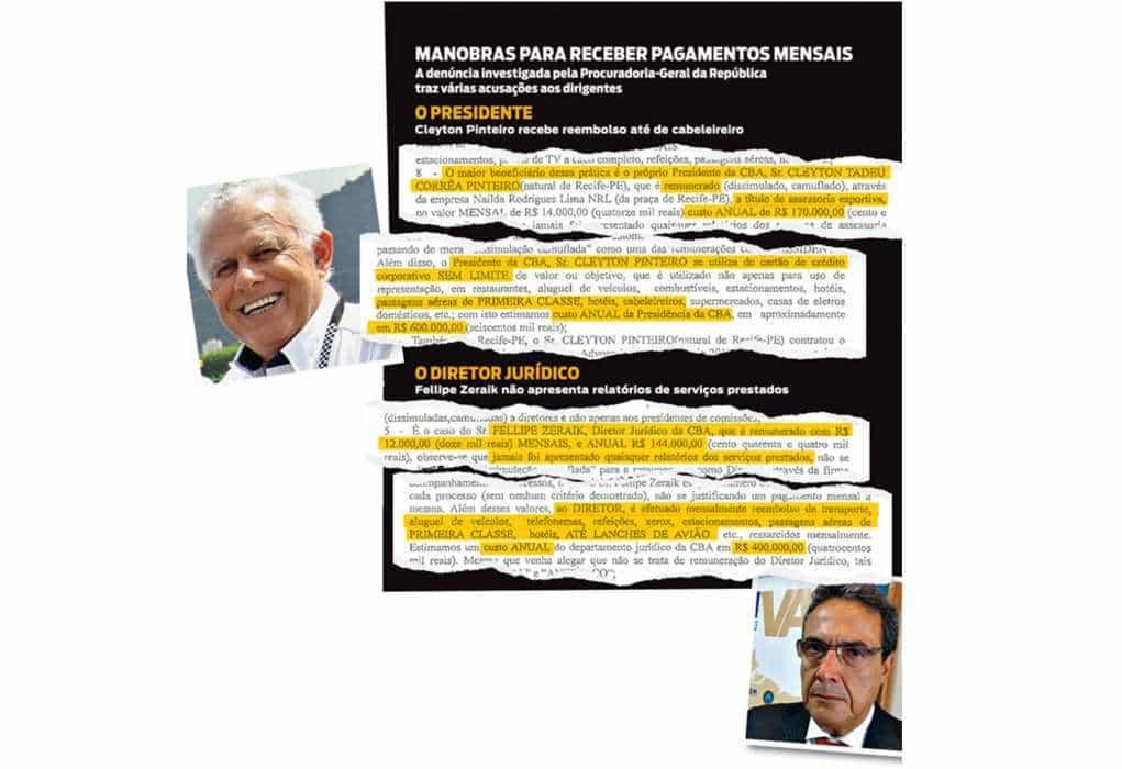 Revista Isto É desta semana traz reportagem sobre a CBA (Foto site www.istoe.com.br)