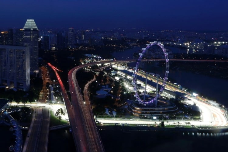 Cingapura recebe a F-1 neste fim de semana (Foto REUTERS/Pablo Sanchez)