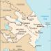 O Mapa do Azerbaijão (foto  wikipedia.com)