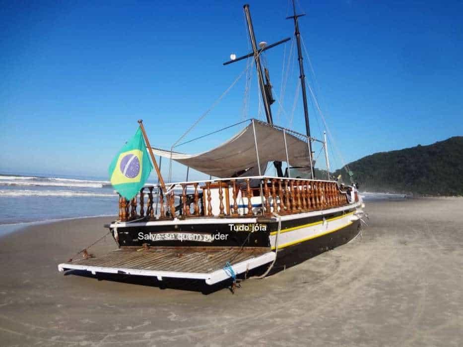 Tudo jóia– com o Brasil encalhado
