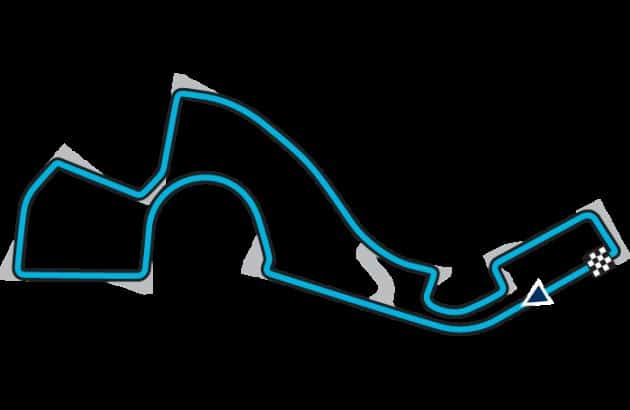 Sochi: uma curva rápida à esquerda e várias lentas à direita (Arte: FIA)