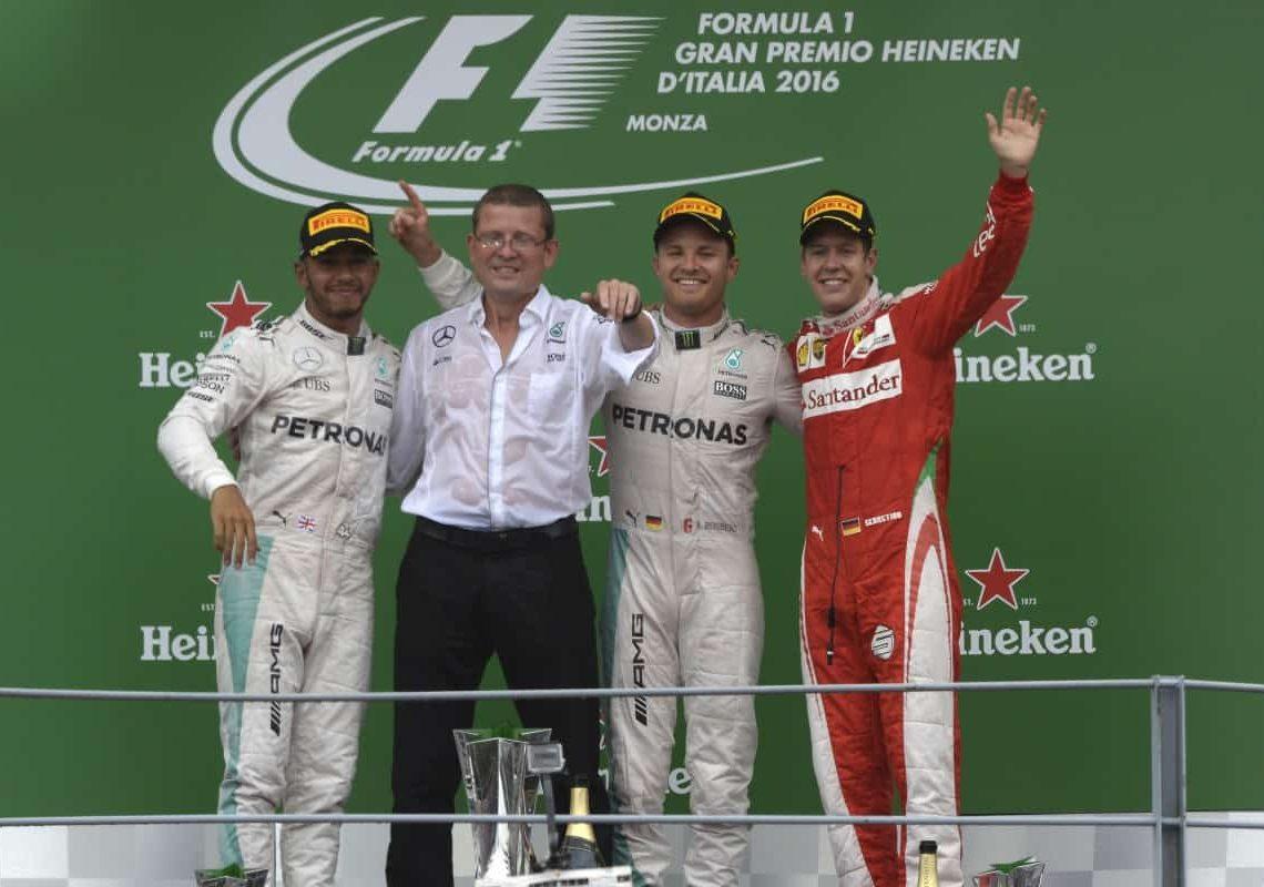 Quarta dobradinha da Mercedes teve Vettel no pódio (Foto Mercedes)