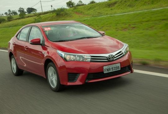 Toyota Corolla, imune à crise