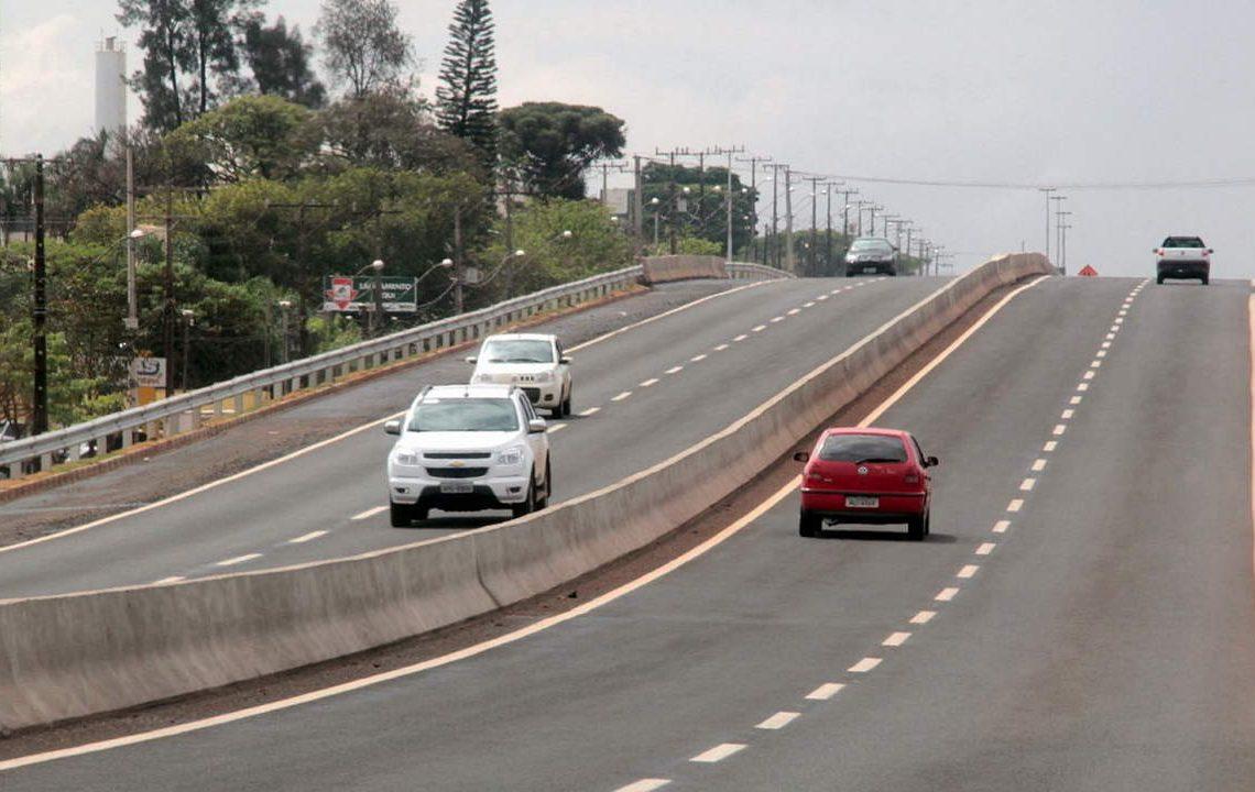 Obras – Duplicação – Duplicação de rodovias – Obras de duplicação do trecho urbano PR 445 entre o Bairro União da Vitória e Warta. Foto Jorge Woll – SEIL/DER.