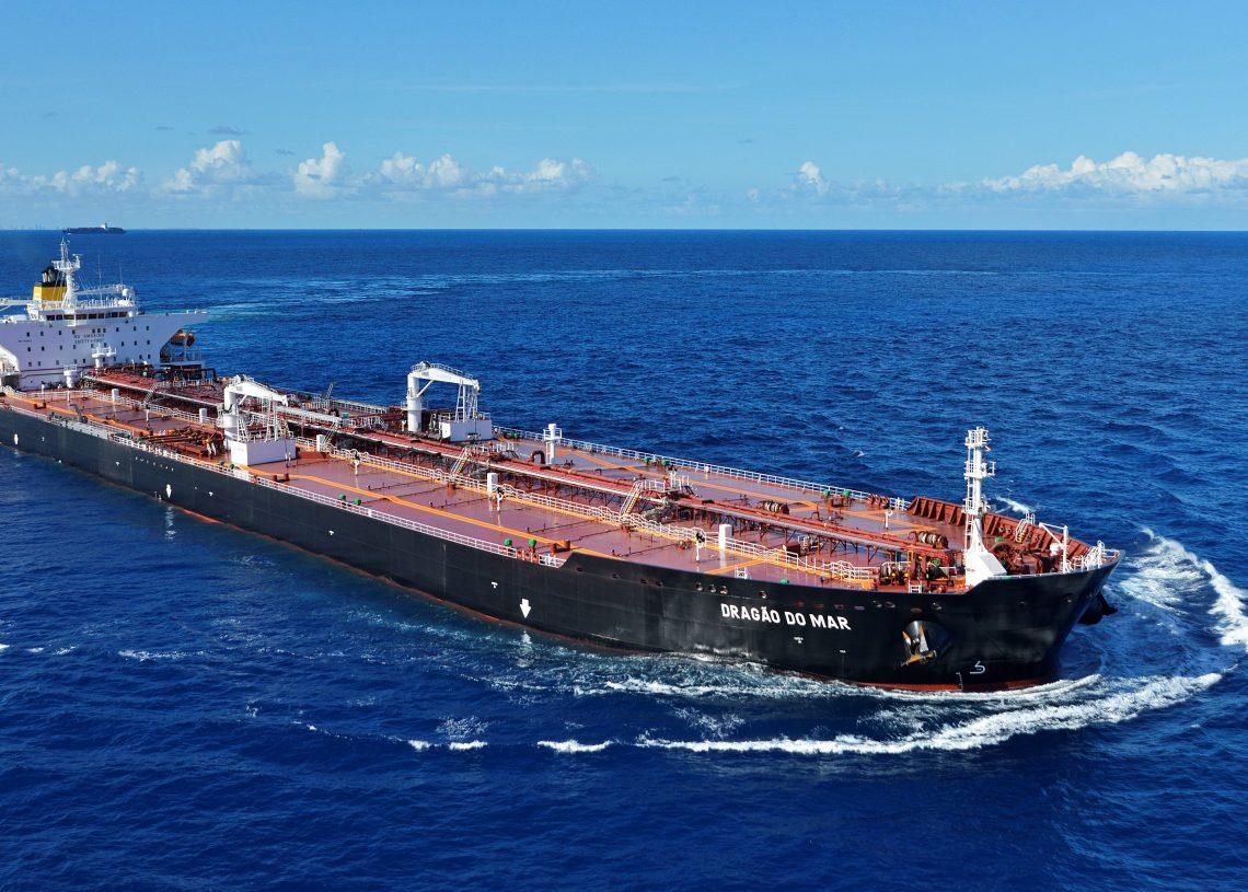 Prova de Mar do navio Dragão do Mar