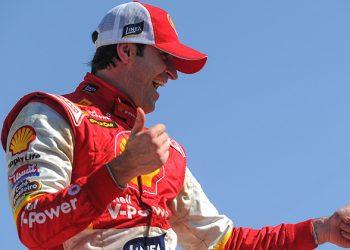 Ricardo Zonta celebra sua segunda vitória na temporada da Stock Car (Fábio Davini)
