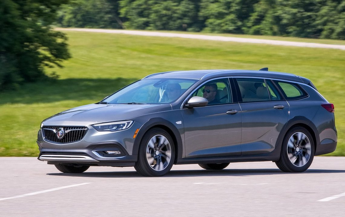 The 2018 Buick Regal Tour X Wednesday, July 19, 2017 in Milford, Michigan. (Photo by Jeffrey Sauger for Buick)