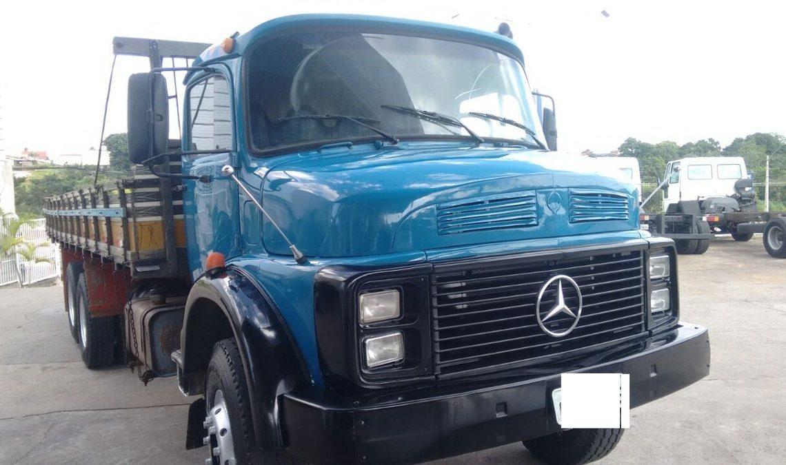 Mercedes L-1319 modelo exportação (mercadolivre.com.br)