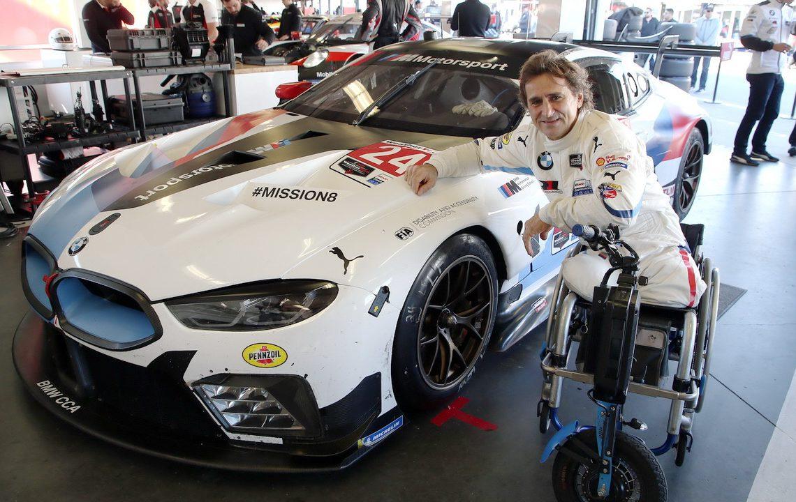Alessandro Zanardi antes da 24 Horas de Daytona no final de janeiro (BMW AG)
