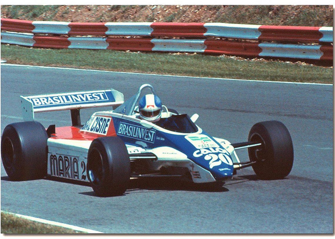Fittipaldi F9 com Chico Serra em 1982 (f1fanatico)