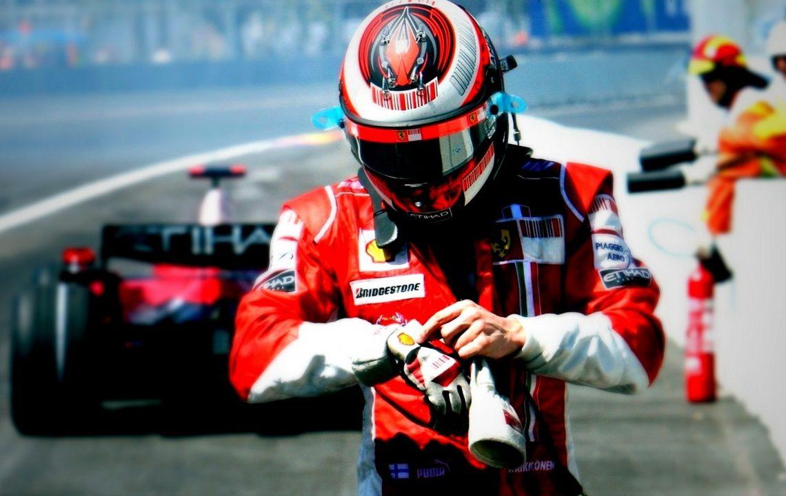 Kimi Räikkönen (Foto: Pinterest)