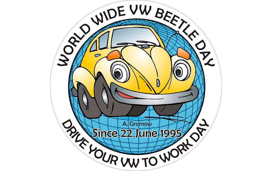 Logo do Dia Mundial do Fusca por Heide Marie Von Der Au