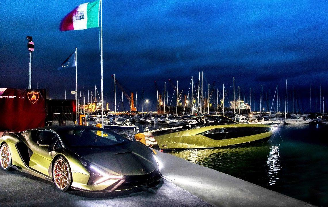 Fotos: Divulgação Tecnomar e Lamborghini