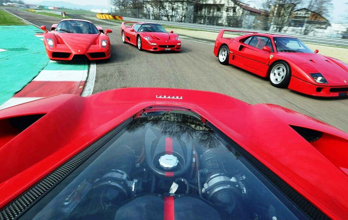 Fotos: Divulgação Ferrari