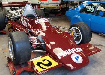 Carro campeão de di Palma, recuperado recentemente (Foto: infobae.com